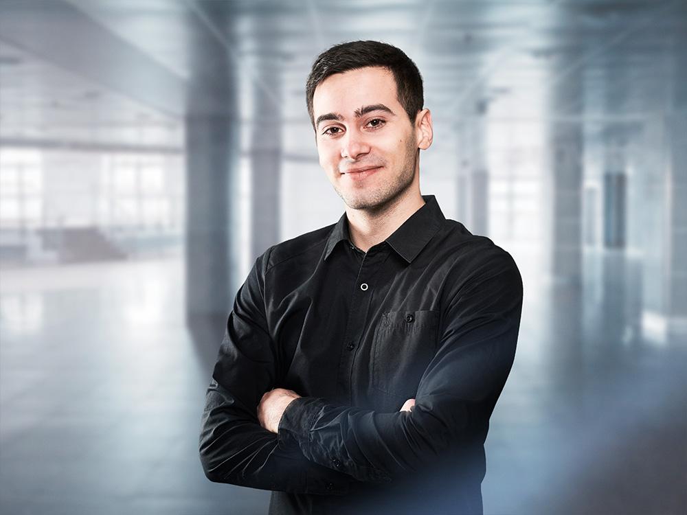 Christopher Talosi, Fachkraft für Veranstaltungstechnik, ACETEC