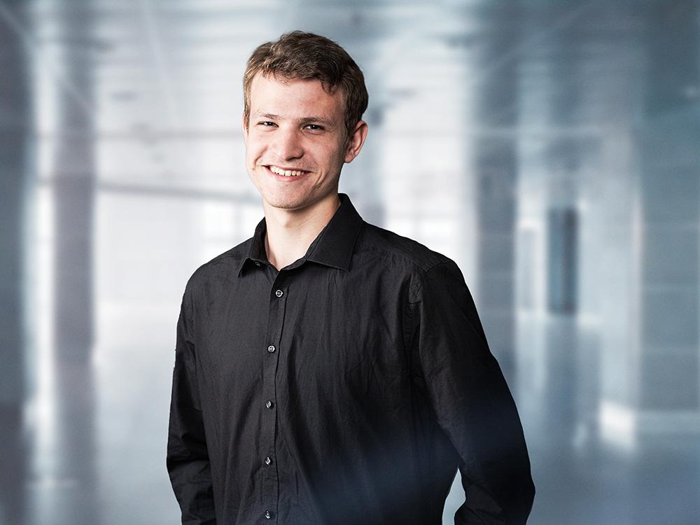 Mirko Dallwitz, Auszubildender Veranstaltungstechniker bei ACETEC