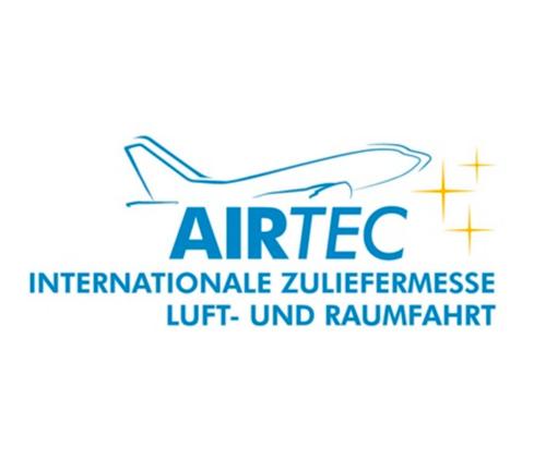 Logo AIRTEC Internationale Zuliefermesse Luft- und Raumfahrt
