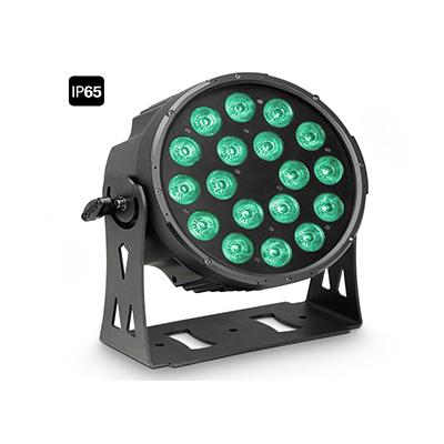 Cameo Flat Pro 18 outdoor Scheinwerfer schwarz